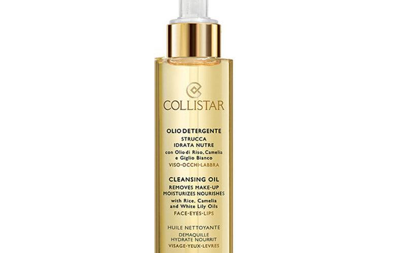 Collistar cleansing oil гидрофильное масло